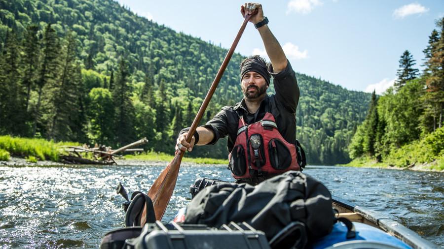 Martin Trahan : canoter à travers les États-Unis