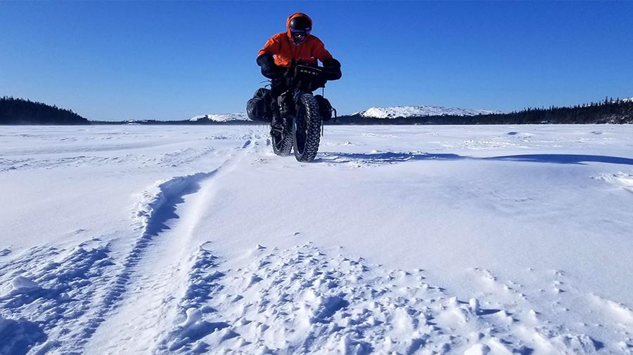 Récit d'expédition : La Route blanche en fatbike... comme plaquebières sous neige