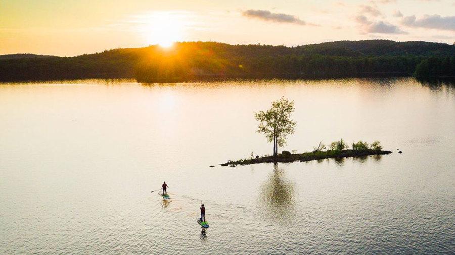 Québec : Des parcours de SUP dans des décors magiques