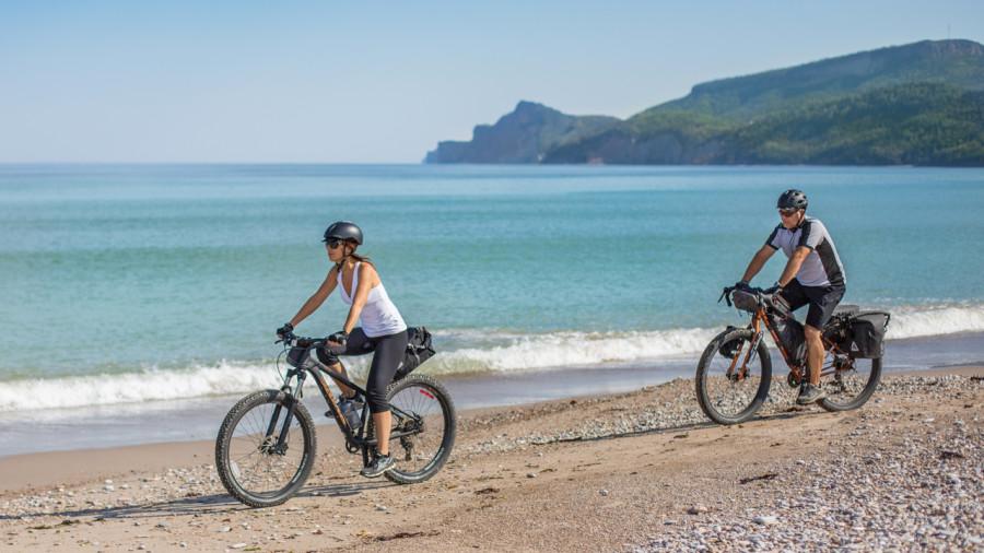 8 plages pour rouler en fatbike au bord de l'eau