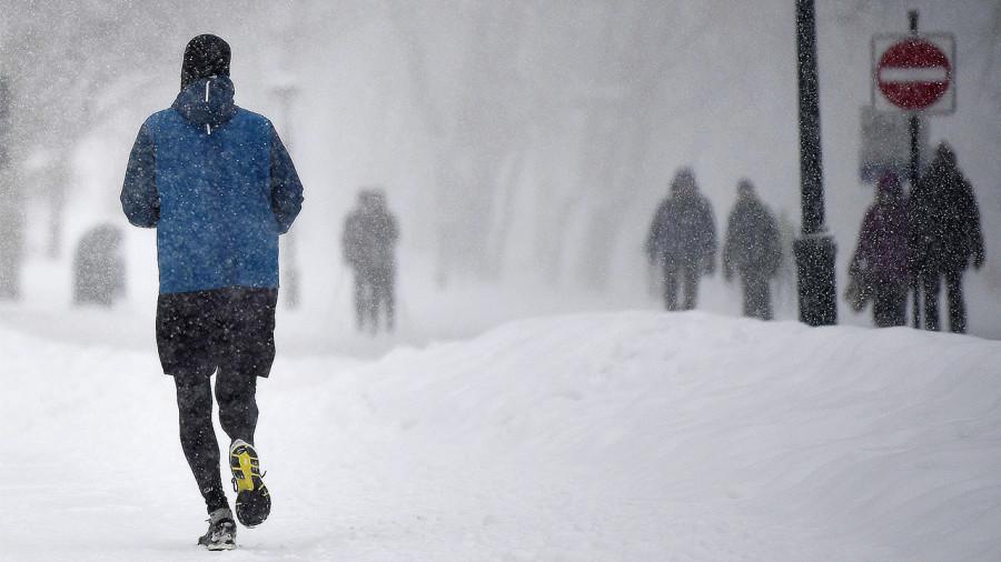 Encore de la neige au Québec