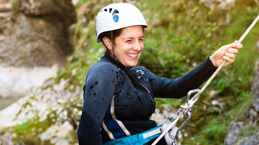Canyoning dans Charlevoix -À gorges dévalées