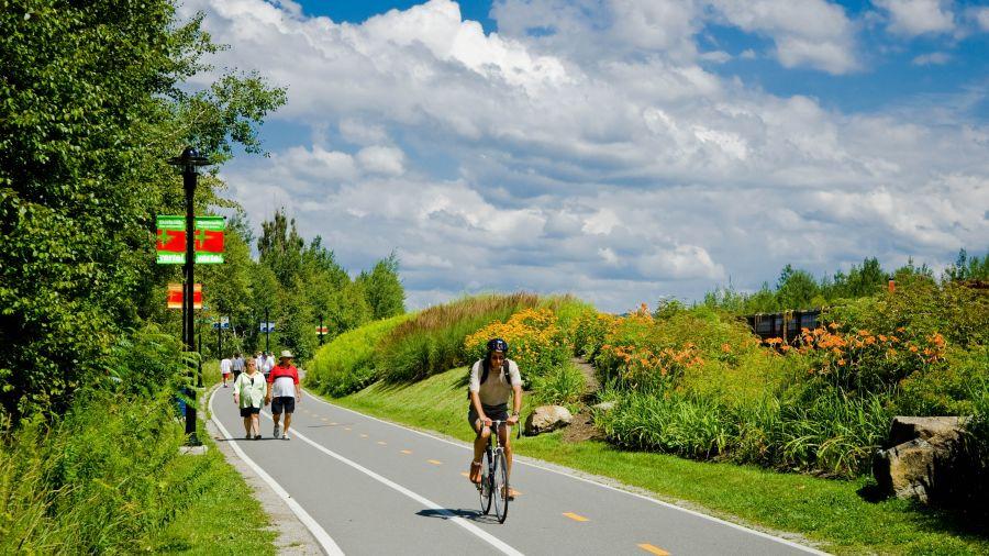Randonnée vélo à Frelighsburg