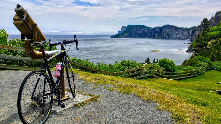 Tour du parc Forillon à vélo : l'enfer au paradis!