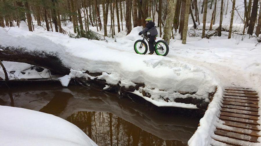 Fatbike 101 au parc du Domaine Vert