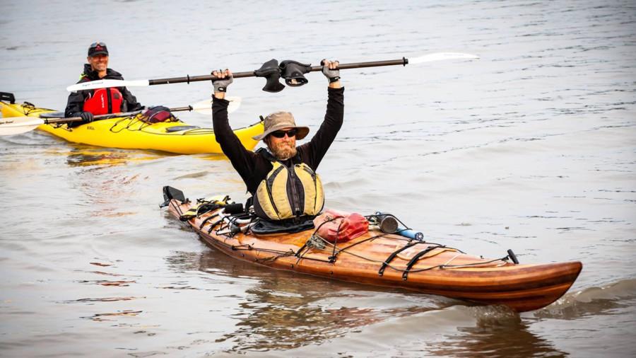En pleine pandémie, il a traversé le Canada en kayak