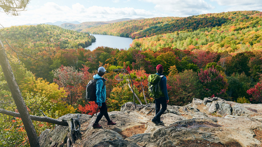 Longue randonnée : une traversée en équipe des Sentiers de l'Estrie