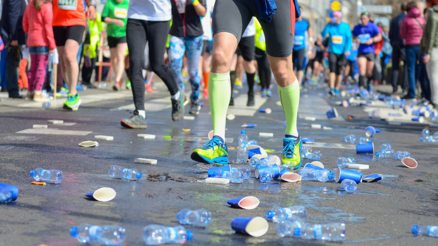 Des capsules d'eau comestibles au prochain Marathon de Londres