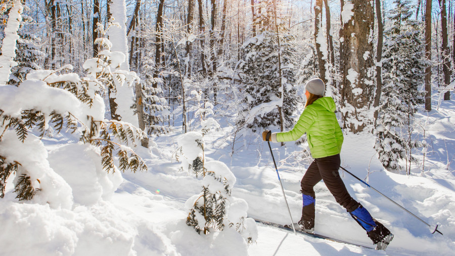 Ski de fond :  Glisse gratis au Québec!