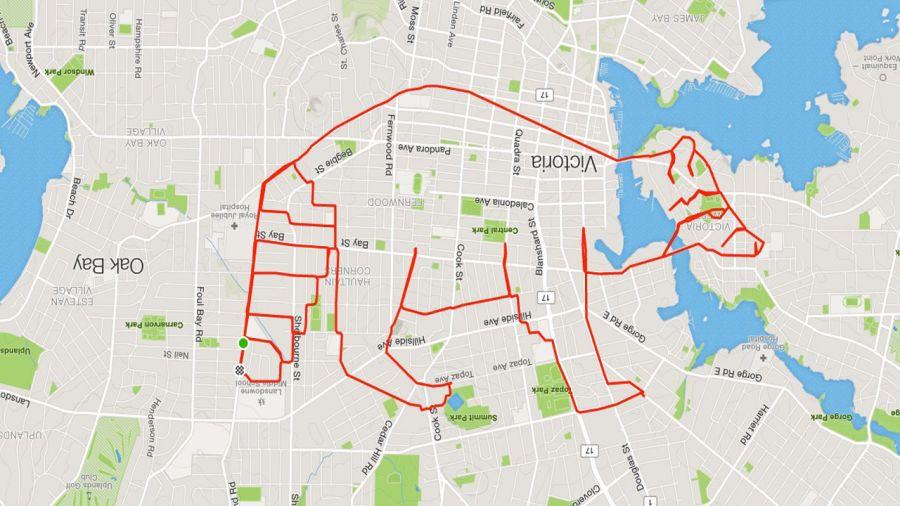 Cycliste, dessine-moi un raton !
