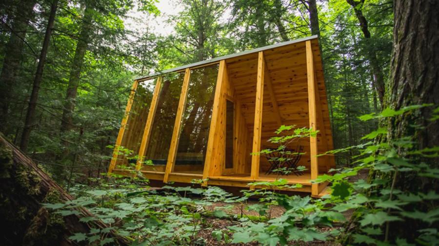 Un nouveau refuge à louer au parc régional du Poisson Blanc