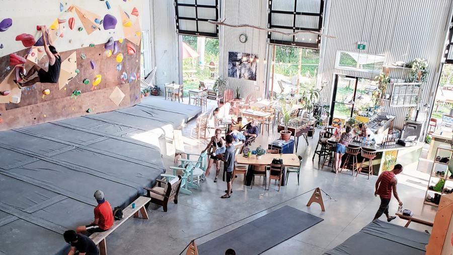 Bientôt un nouveau café-escalade Backbone dans les Laurentides