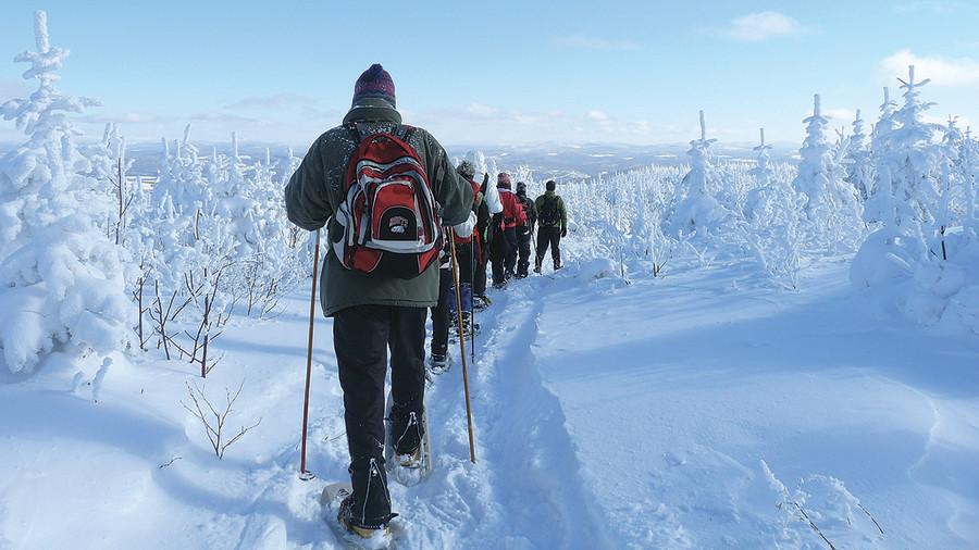 Raquette : 10 randonnées gratuites au Québec