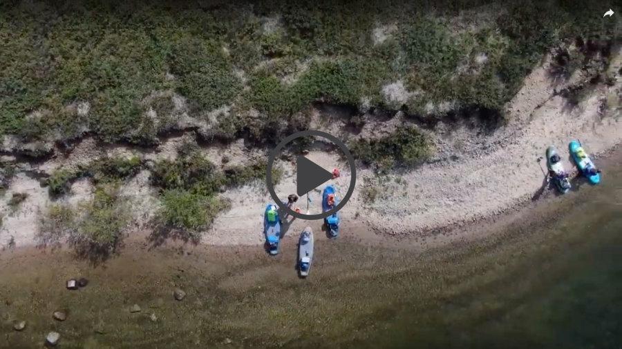 Vidéo : 220 km en SUP à travers le Nunavik
