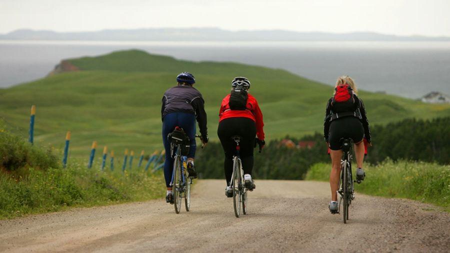 Vélo de route : L'île du Cap-aux-Meules (Îles de la Madeleine)