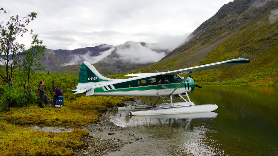 Yukon : Trek en terre sauvage