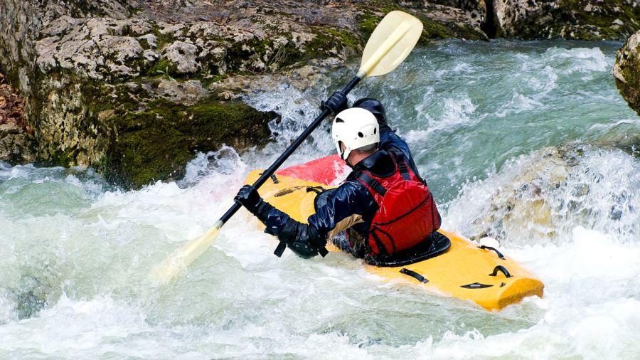 Kayak de rivière : ce que Steve Fisher pagaie au Québec