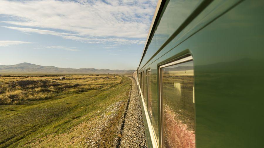De Pékin à Moscou par le chemin de fer Transmongolien