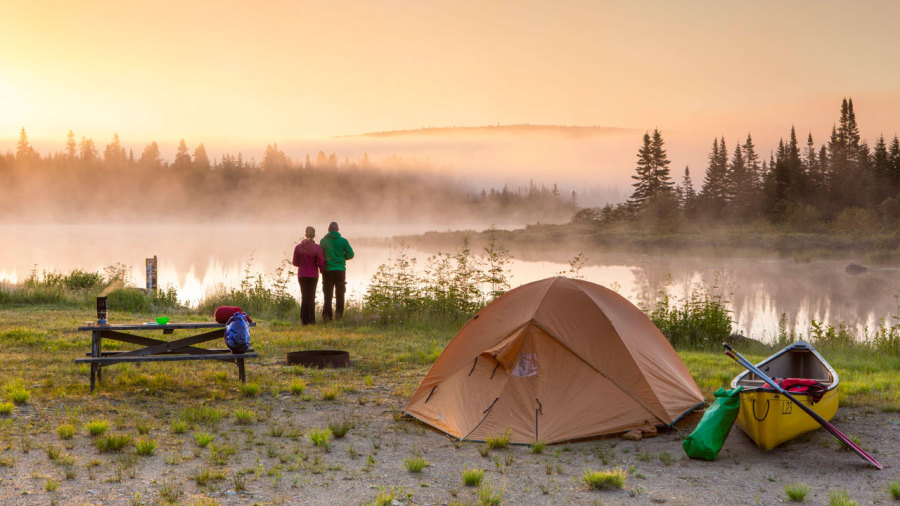 10 petites aventures en canot-camping