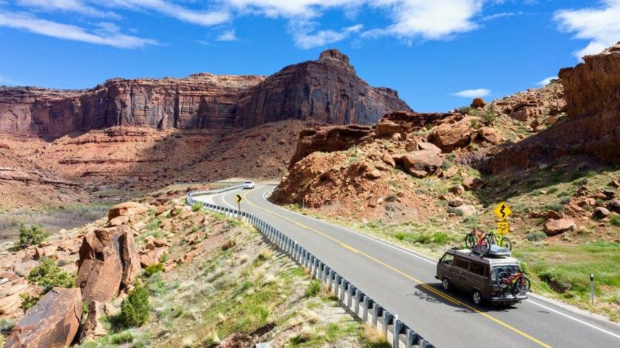 Road trip actif : 8 arrêts incontournables dans l'Ouest américain