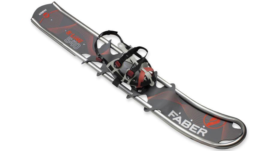 Après le ski-raquette, voici la raquette-ski !