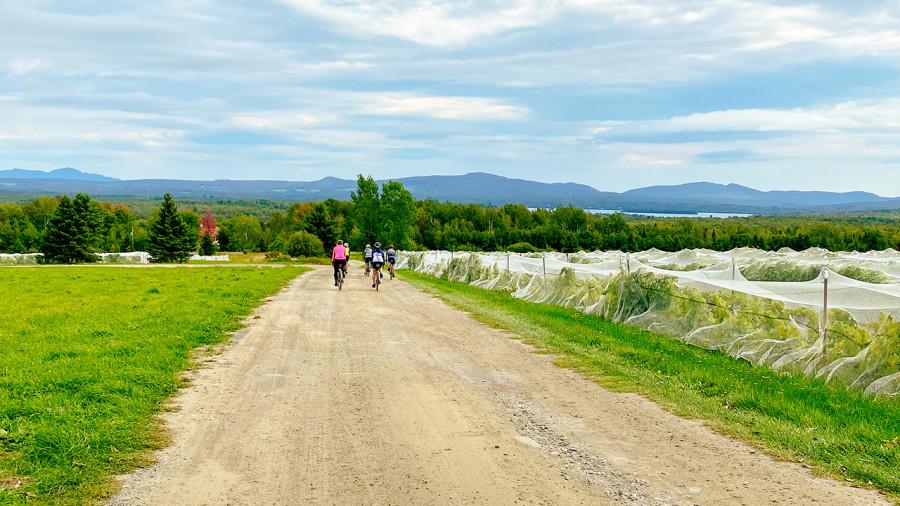 Ekilib : du vélo, de la gravelle et de la bière dans les Cantons-de-l'Est