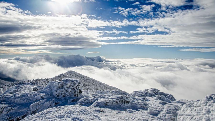 Les White Mountains… en hiver
