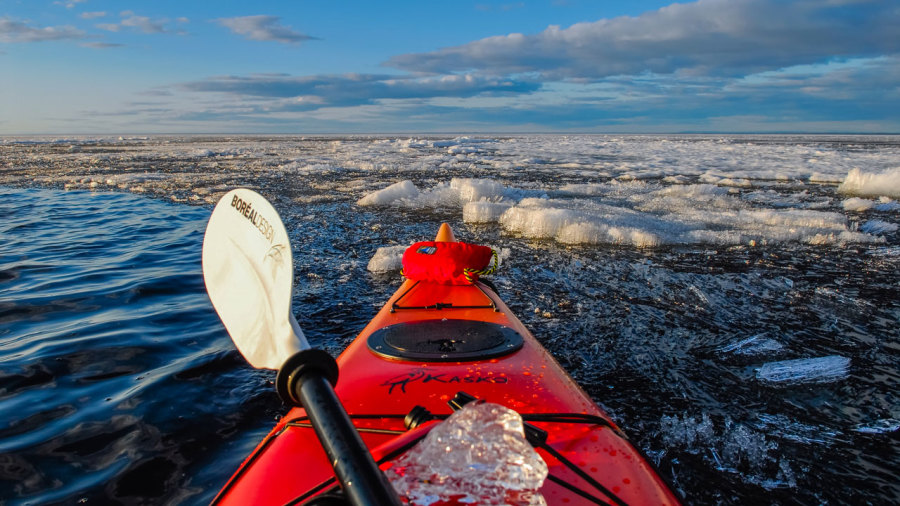 Du kayak de glace au Saguenay–Lac-St-Jean