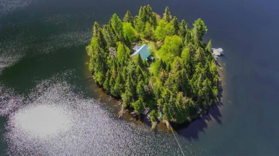 L'Ile du Nouveau Monde : dormir sur une ile en plein milieu d'un lac québécois