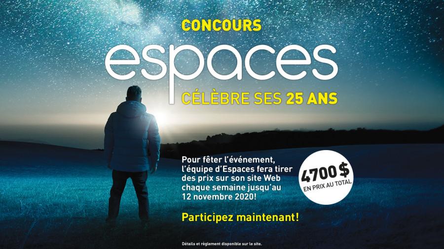 Concours 25 ans d'Espaces