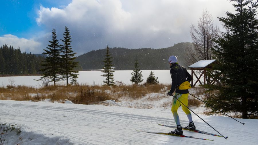Du ski de fond dès novembre à la Forêt Montmorency