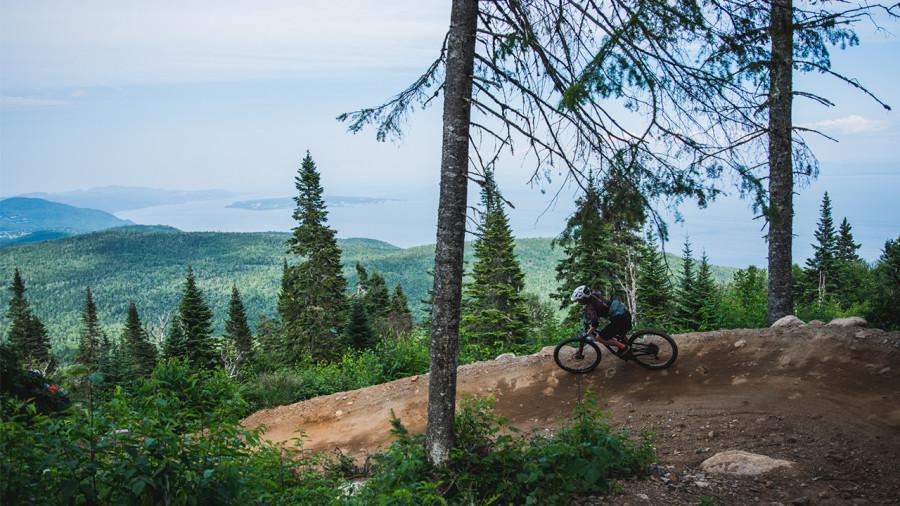 Massif de Charlevoix : bientôt de nouveaux sentiers de vélo de montagne