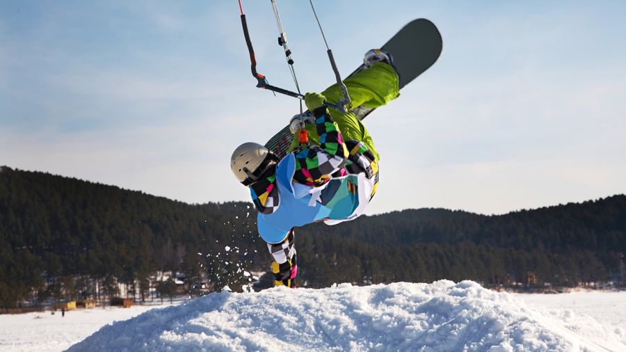Six destinations de snowkite