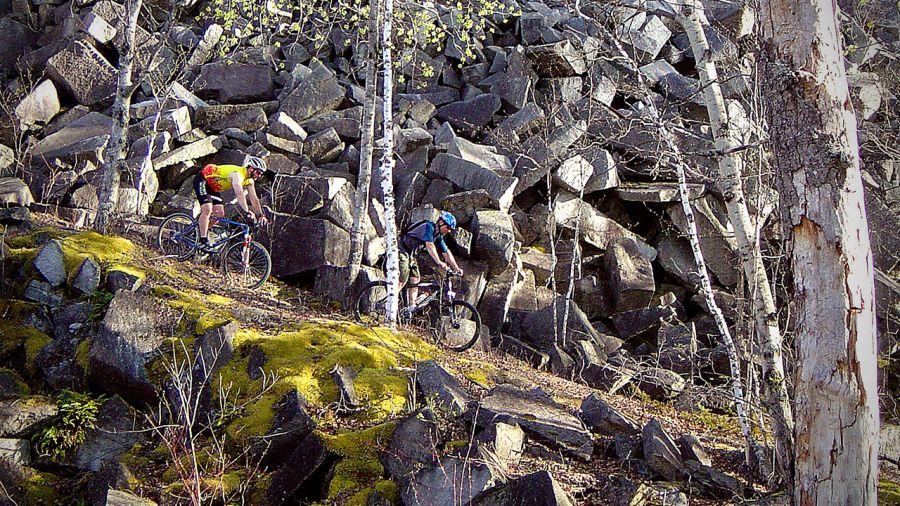 Vélo de montagne : l'automne en 4 temps