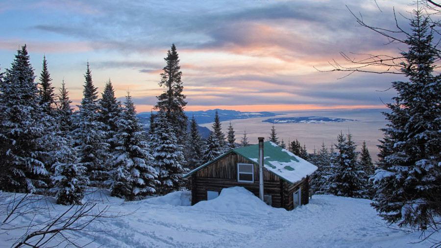 Les 10 plus beaux refuges avec vue au Québec