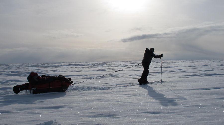 Rêve de glace : le passage du Nord-Ouest en kayak de mer