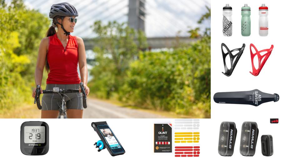 8 accessoires pas chers pour se mettre au vélo