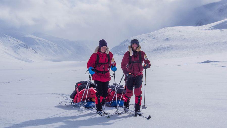 La Laponie à ski