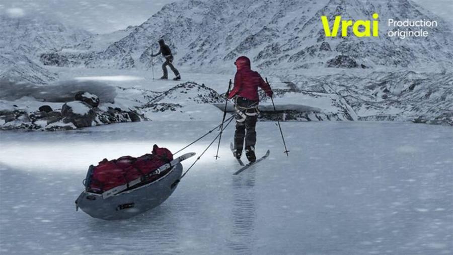 Le dernier glacier : le documentaire sur l'expédition polaire de Caroline Côté