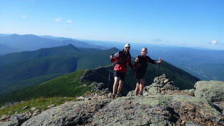 Transalpine-Run : deux coureurs québécois à l'assaut des Alpes