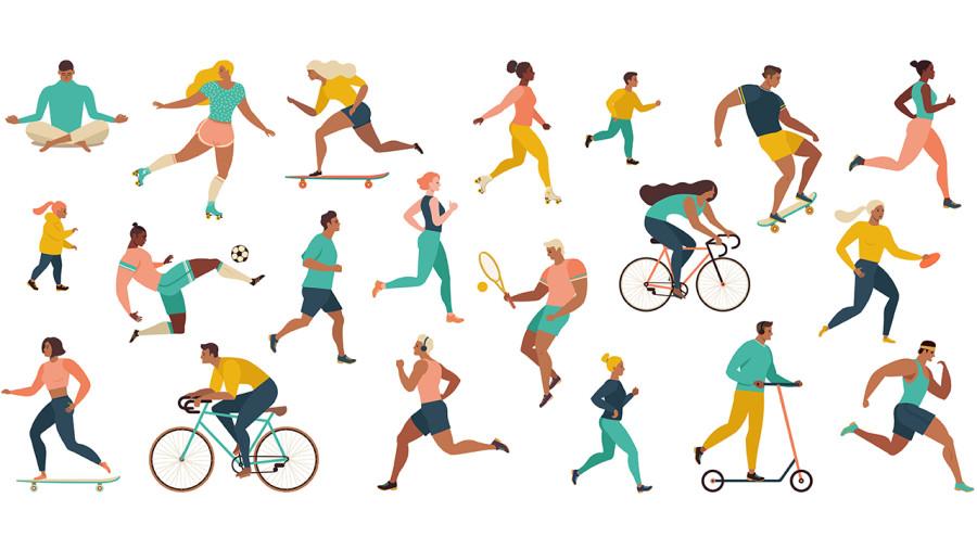 Le sport pour mieux combattre le coronavirus?
