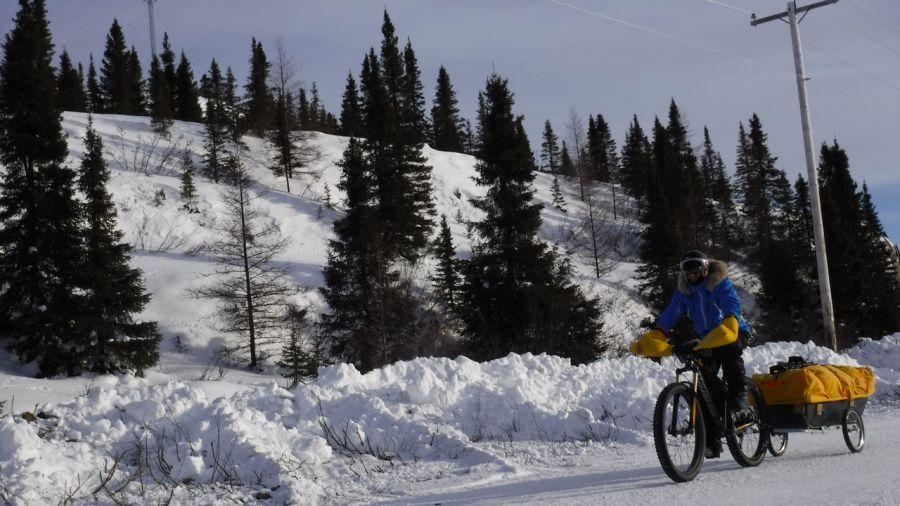 Mathieu Beaudoin : 1000 km de vélo d'hiver à la Baie-James