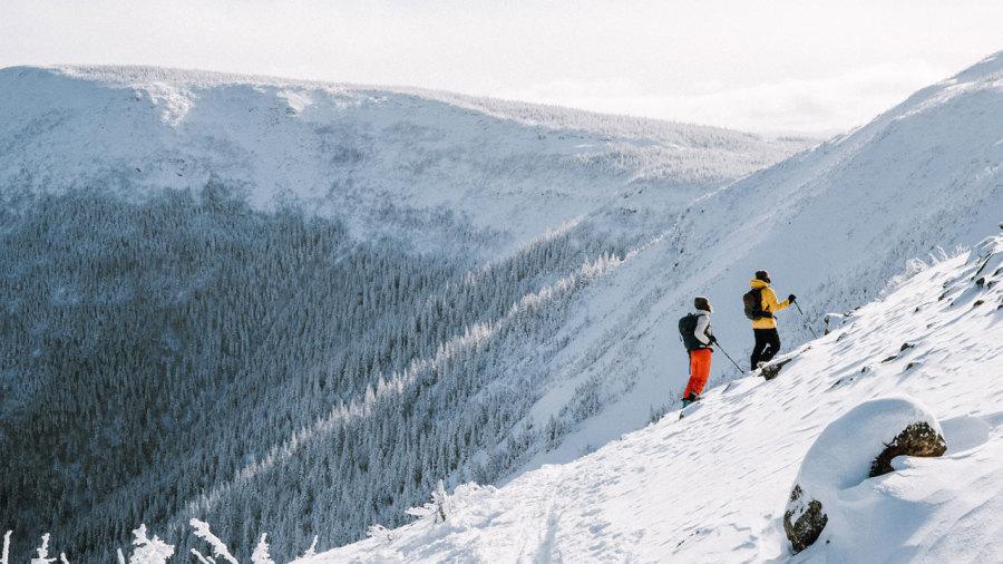 Ski hors-piste : Beaucoup de nouveautés en Haute-Gaspésie cet hiver