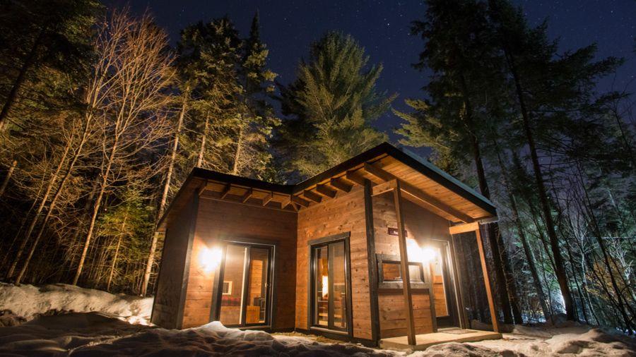 Chalets Lanaudière : Un mini chez soi dans le bois