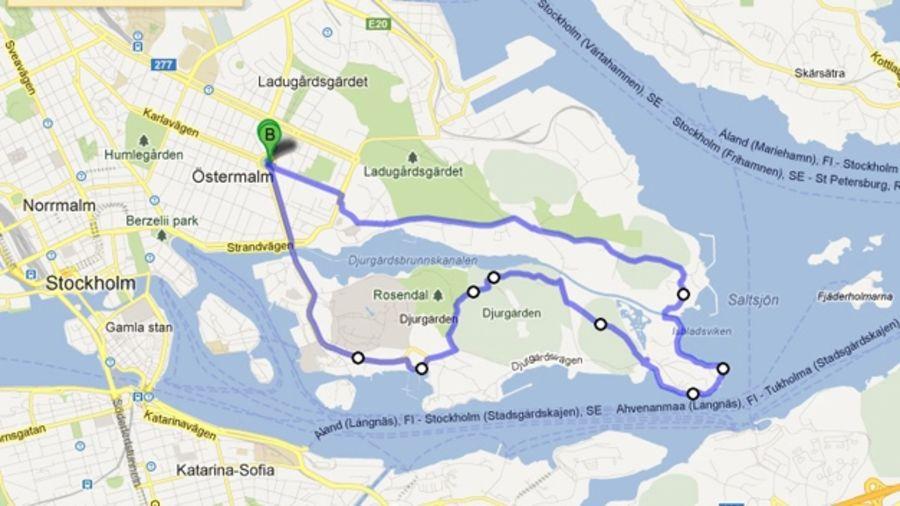 Courir au large : Stockholm, Suède