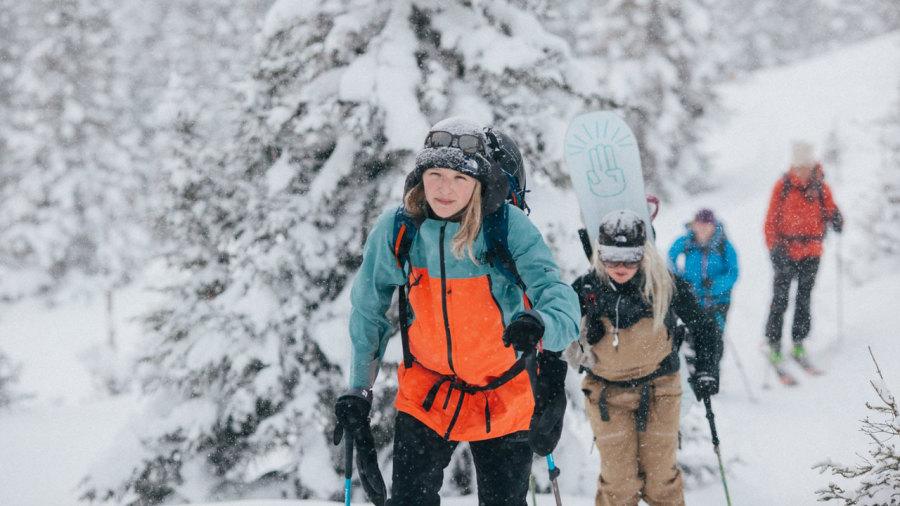 10 photos qui vont donner envie aux filles de skier dans les Chic-Chocs