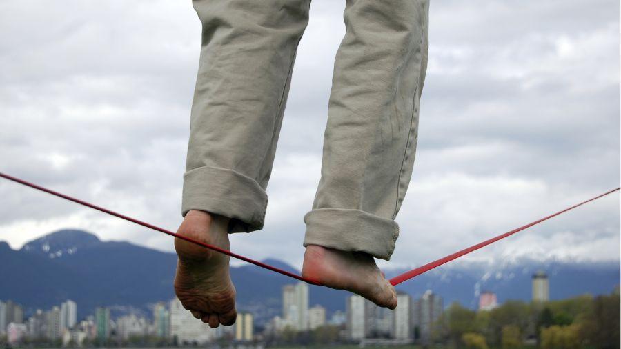 Slackline: Équilibrez votre vie
