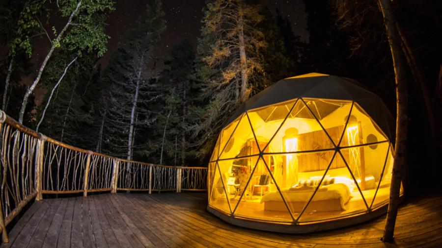 8 prêt-à-camper originaux à essayer au Québec