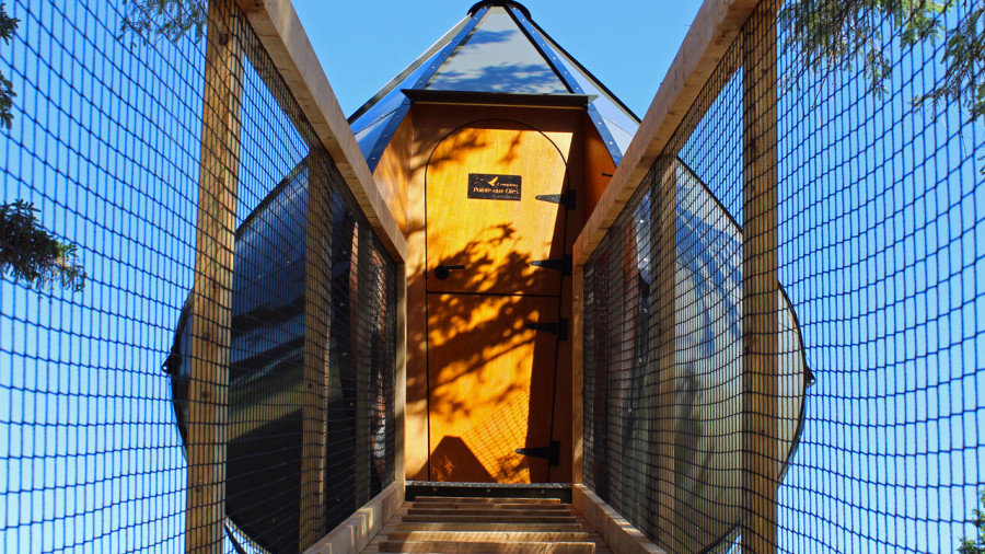 Dormir dans une Goutte d'Ô à Montmagny