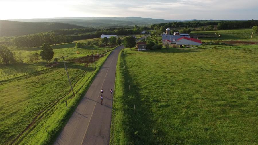 12 circuits sur la véloroute des Appalaches
